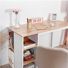 Table de bureau en mdf, bureau informatique plan