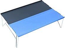 Table de camping pliante en aluminium pour