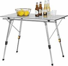 Table de camping pliante en Aluminium.Table de