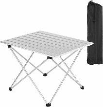 Table de camping pliante léger et portable. Table