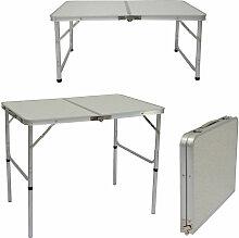 Table de Camping Portable 3kg Pliante en mallette