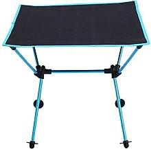 Table de camping portable pliable en alliage