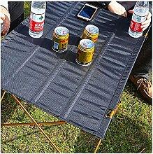 Table de camping portable pour barbecue,