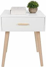Table de Chevet Moderne Compacte, Table