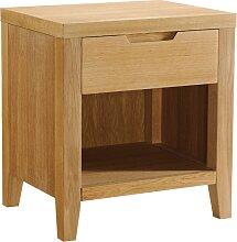 Table de chevet scandinave en bois CHAMBARAN - 1