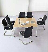 Table de conférence carrée - h x L x l 720 x