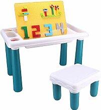 Table de construction multifonctionnelle, table