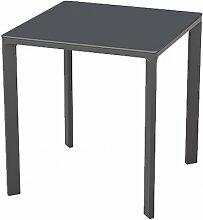 Table de jardin carrée empilable 80 x 80 cm - Meet