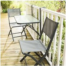 Table de jardin de balcon pliante W_600098