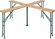 Table de Jardin de Réception Pliante Haute en