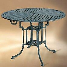 Table de jardin en métal TEIDE 90 ronde aluminium