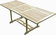 Table de jardin en teck AMARA 8/10 places