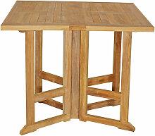 Table de jardin en teck PIAVA 2 places