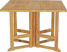 Table de jardin en teck PIAVA 3 places