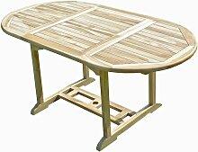 Table de jardin en teck SOLO 6/8 places