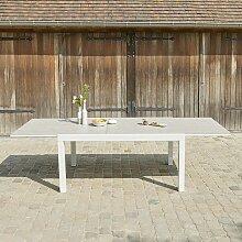 Table de jardin extensible en aluminium 6/10