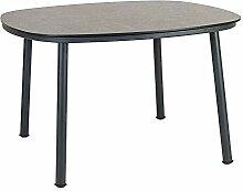 Table de jardin ronde moderne – Aluminium &