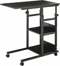 Table de lit/fauteuil - table roulante - hauteur