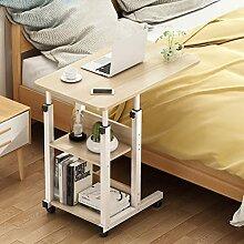 Table De Lit pour Ordinateur Portable Roulante