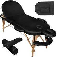 Table de massage 3 zones pliante 10 cm