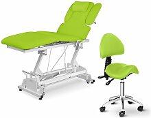 Table De Massage Électrique Siège-Selle Avec