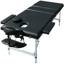 Table de massage en aluminium banc de massage