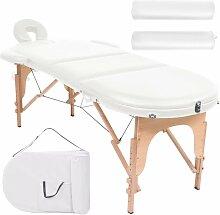 Table de massage pliable 10cm d'épaisseur et
