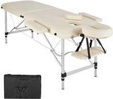 Table de massage pliante 2 zones aluminium