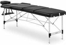 Table de massage pliante cadre aluminium