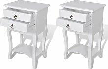 Table de nuit chevet commode armoire meuble