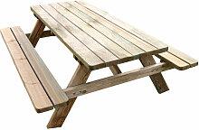 Table de pique-nique 6 personnes