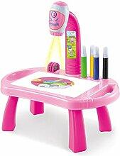 Table de projecteur de dessin for enfants, table