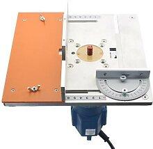 Table de routeur électrique en Aluminium, plaque