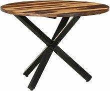 Table de salle à manger 100x100x75 cm Bois