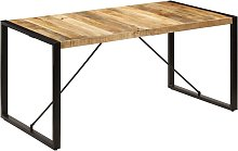 Table de salle à manger 160x80x75 cm Bois de