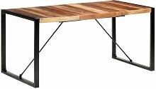 Table de salle à manger 160x80x75 cm Bois solide