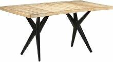 Table de salle à manger 160x80x76 cm Bois de
