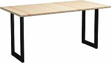 Table de salle a manger 200x100x76 cm Bois de pin