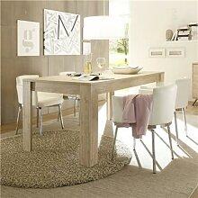 Table de salle à manger couleur bois moderne