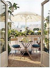 Table de salle à manger d'extérieur pliable