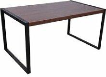 Table de salle à manger Jenckle 150cm MDF bois