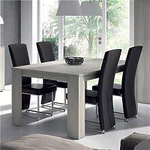 Table de salle à manger rectangulaire couleur