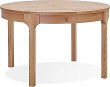 Table de salle à manger ronde extensible