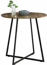 Table de salle à manger vaggeryd effet bois