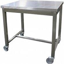 Table de service inox - l2g - 600