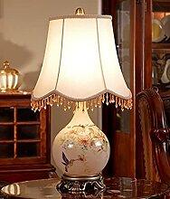 Table de style européen Lampe de nuit Lampe de