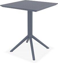Table de terrasse pliable 'FOLY' carrée