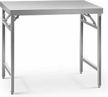 Table de travail pliable Surface 60x120cm Pieds