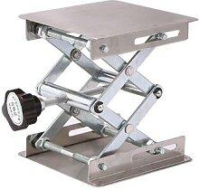 Table élévatrice en aluminium, 135x100x45mm,