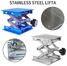 Table élévatrice en aluminium pour le travail du